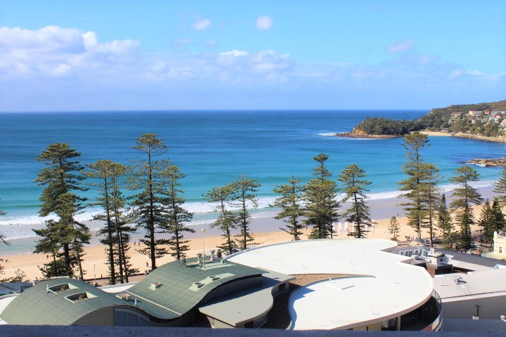 Breathtaking Manly Beach water views