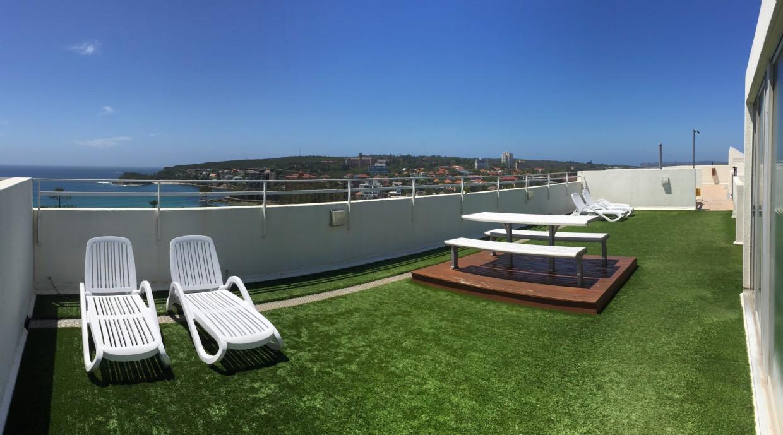 Common roof top terrace